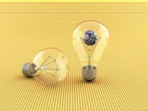 elektryczny żarówki światło Obraz Royalty Free