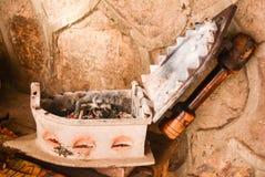 elektryczny żelazo zdjęcie stock