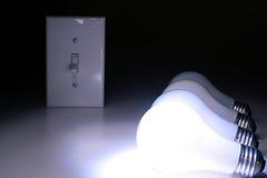 elektryczny żarówki matte Zdjęcie Stock