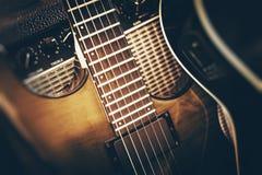 Elektryczny Basowej gitary Bawić się Zdjęcie Stock
