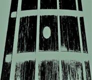 Elektryczny basowy neo czerń fotografia royalty free