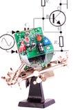 elektryczny deskowy obwód Obrazy Royalty Free