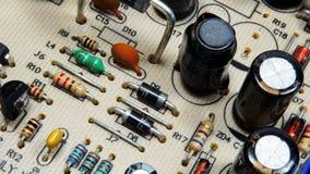 elektryczny deskowy obwód Fotografia Stock