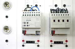 Elektryczny deskowy system Obraz Stock