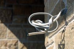 elektryczny drut Obrazy Stock