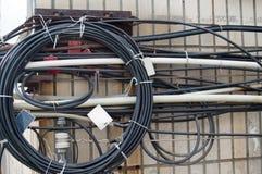 elektryczny drut Fotografia Royalty Free