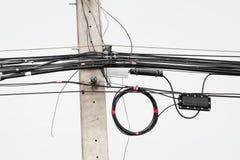 Elektryczny drut zdjęcie royalty free