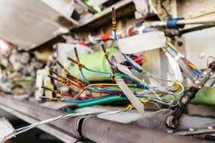 elektryczny drutowanie Zdjęcie Stock
