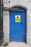 Elektryczny drzwi Zdjęcia Royalty Free