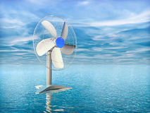 elektryczny fan ilustracji