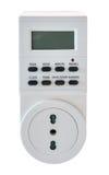 Elektryczny gniazdkowy zegar Zdjęcie Stock