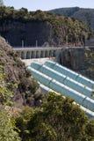 elektryczny hydro piszczy elektrownię Obrazy Royalty Free