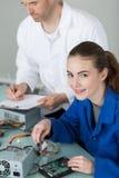 Elektryczny i elektroniczny asembler Zdjęcie Royalty Free