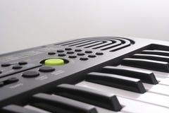 elektryczny klawiaturowy pianino Obrazy Royalty Free