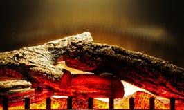 elektryczny kominek Fotografia Royalty Free
