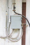 Elektryczny Kontrolny pudełko. Obrazy Royalty Free