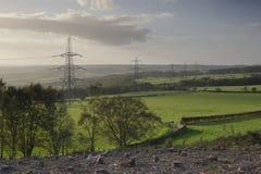 elektryczny krajobraz Obrazy Stock