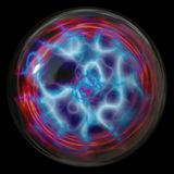elektryczny kula plazmy Obraz Royalty Free
