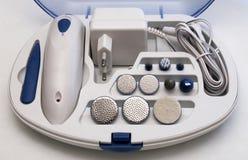 Elektryczny Manicure I Pedicure'u Set Zdjęcia Stock
