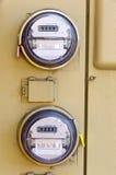 elektryczny metr Zdjęcie Stock