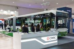 Elektryczny miasto autobus od CRRC Zdjęcie Stock