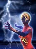 Elektryczny obcy royalty ilustracja
