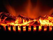 Elektryczny ogień Obrazy Royalty Free