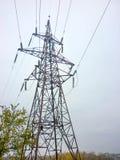 Elektryczny peleng z drutami Zdjęcia Stock