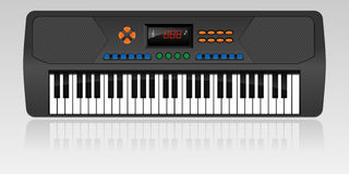 elektryczny pianino Ilustracji