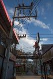 elektryczny pilon w Koh Samui, Tajlandia - Fotografia Royalty Free