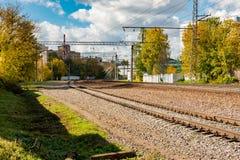 elektryczny pociąg pasażerski Zdjęcia Stock