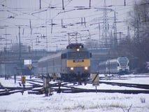 Elektryczny pociąg Fotografia Royalty Free
