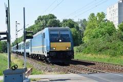 Elektryczny pociąg Fotografia Stock