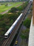Elektryczny pociąg bts Zdjęcia Stock