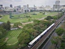 Elektryczny pociąg bts Zdjęcia Royalty Free