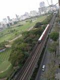 Elektryczny pociąg bts Fotografia Stock