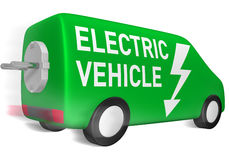elektryczny pojazd Zdjęcia Stock