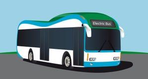 Elektryczny pojazdu autobus Obraz Royalty Free