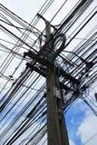 Elektryczny słup Obraz Stock