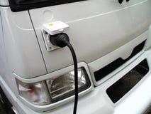 elektryczny samochód Obrazy Royalty Free