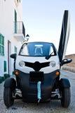 Elektryczny samochód Fotografia Royalty Free