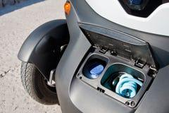Elektryczny samochód Ilustracja Wektor