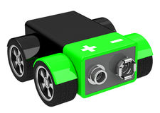 Elektryczny samochód Zdjęcia Stock