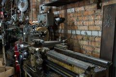 Elektryczny szlifierskiej maszyny ławki ostrzarz Zdjęcie Royalty Free