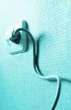 elektryczny sznura zbytu ściany Obraz Stock