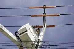Elektryczny technik. Obraz Stock