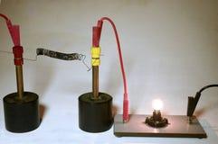 Elektryczny temperaturowy współczynnik w żelazie, zimna wersja obrazy royalty free