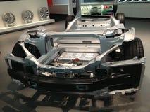 Elektryczny Tesla samochód Obraz Stock
