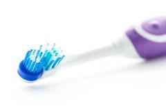 Elektryczny toothbrush odizolowywający Fotografia Stock