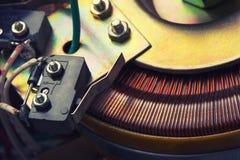 Elektryczny transformator Zdjęcia Royalty Free